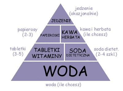 pro-ana food pyramid